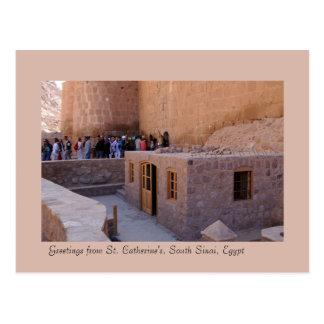 Monastère de St Catherine, Sinai du sud, Egypte Carte Postale
