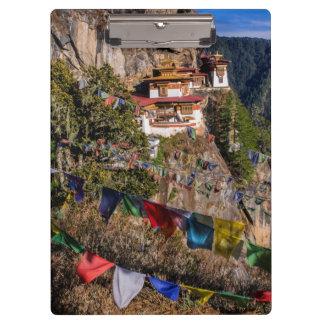 Monastère du nid du tigre, Bhutan Porte-bloc