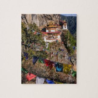 Monastère du nid du tigre, Bhutan Puzzle
