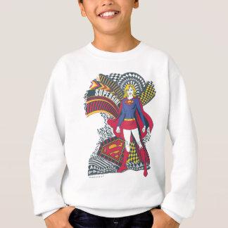 Monde aléatoire 1 de Supergirl Sweatshirt