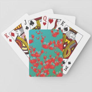 Monde de crabe jeux de cartes