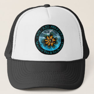 Monde de CRP/RSD de casquette de logo du feu et de