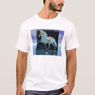 Monde de l'islandais t-shirt