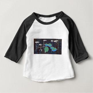 Monde de tambour t-shirt pour bébé