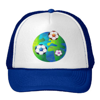 monde du football casquettes