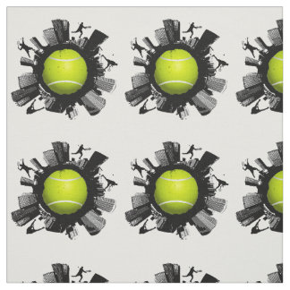 Monde frais de tennis tissu