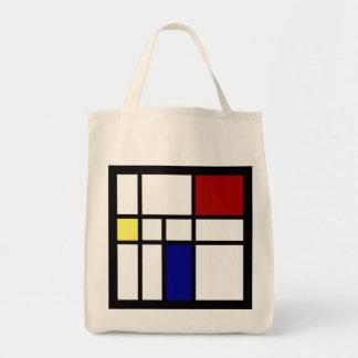 Mondrian a inspiré la conception sac fourre-tout