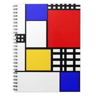 Mondrian a inspiré le carnet