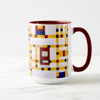 Mondrian - boogie Woogie de Broadway Mug