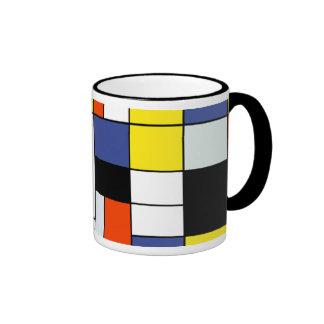 Mondrian - composition une tasse