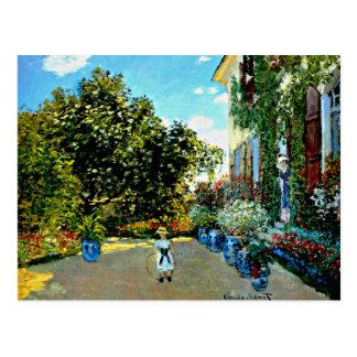 Monet - la Chambre de l'artiste à Argenteuil Cartes Postales