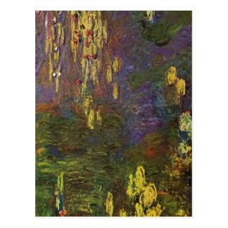 Monet, nymphe de Claude ? en tant que (Seerosen) Cartes Postales