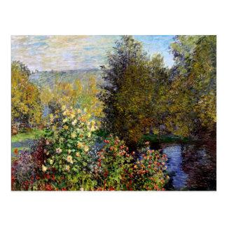 Monet - un coin du jardin chez Montgeron Carte Postale