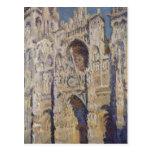 Monet, von Rouen (und de Claude Kathedrale de port Cartes Postales