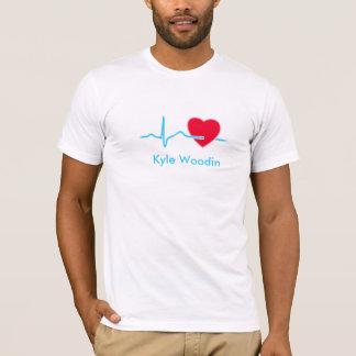 Moniteur de coeur t-shirt