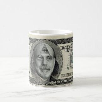Monnaie légale Note-Intergalactique de remise Mug