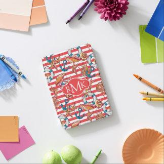 Monogramme à la mode du motif | de plage protection iPad mini