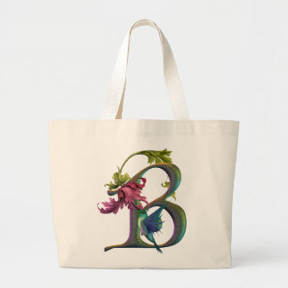 Monogramme B de colibri Grand Sac