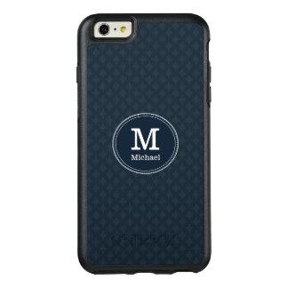 Monogramme classique profond de coutume de marine coque OtterBox iPhone 6 et 6s plus