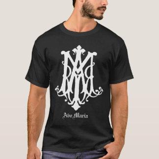 Monogramme d'avenue Maria - chemise catholique T-shirt