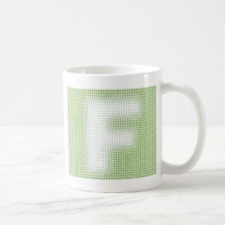 Monogramme de F Mug