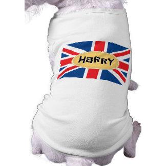 Monogramme de HARRY T-shirt Pour Chien
