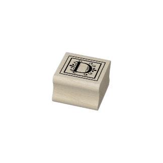 Monogramme de la lettre D
