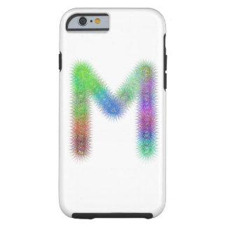Monogramme de la lettre M de fractale Coque iPhone 6 Tough
