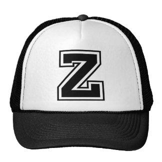 """Monogramme de la lettre """"Z"""" Casquette Trucker"""