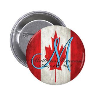 Monogramme de la Réunion de famille du Canada Badges