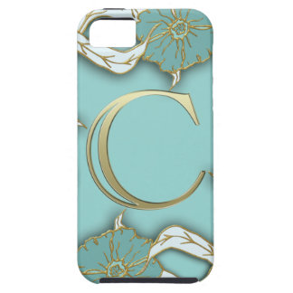 monogramme de l'alphabet c coque tough iPhone 5