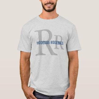 Monogramme de race de Rhodesian Ridgeback T-shirt