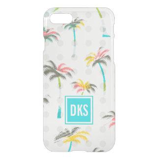 Monogramme des palmiers | d'aquarelle coque iPhone 7
