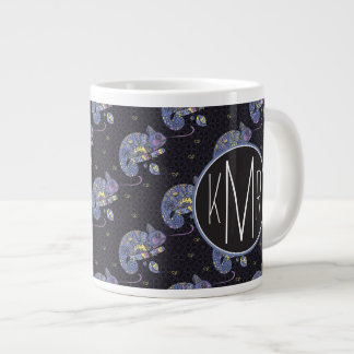 Monogramme du lézard | de Zentangle Mug