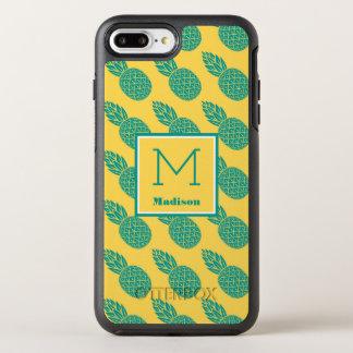 Monogramme du motif | d'ananas coque otterbox symmetry pour iPhone 7 plus