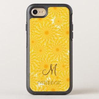 Monogramme floral de motif de pissenlits coque otterbox symmetry pour iPhone 7