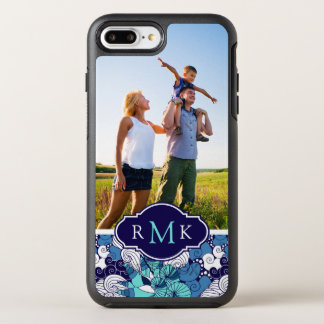 Monogramme génial du coquillage Pattern| Coque OtterBox Symmetry iPhone 8 Plus/7 Plus