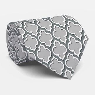 Monogramme marocain de nom de charbon de bois du cravate