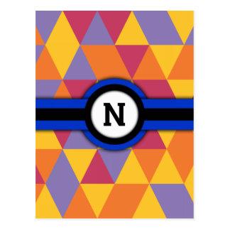 Monogramme N Cartes Postales