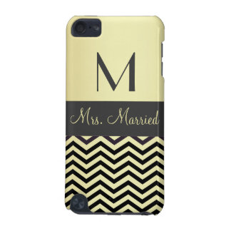 Monogramme - personnalisable coque iPod touch 5G