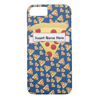 Monogramme personnalisable de folie de pizza coque iPhone 7