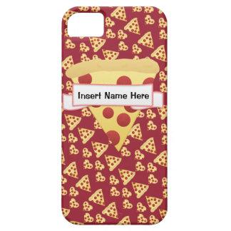Monogramme personnalisable de folie de pizza étui iPhone 5