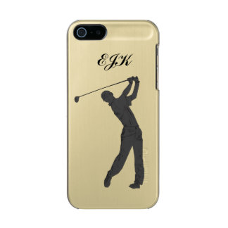 Monogramme personnalisable de partouzeur de golf coque iPhone 5 incipio feather® shine
