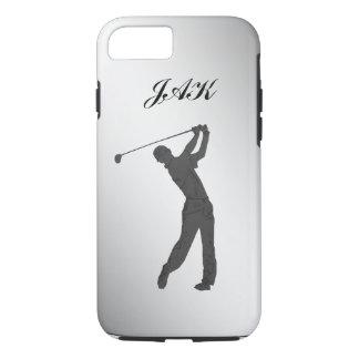 Monogramme personnalisable de partouzeur de golf coque iPhone 7
