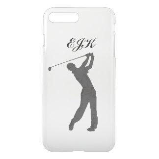 Monogramme personnalisable de partouzeur de golf coque iPhone 7 plus