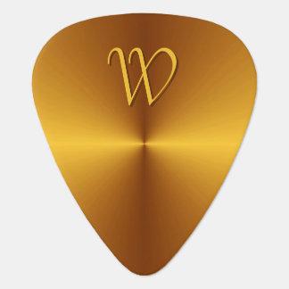 Monogramme personnalisé par onglet de guitare en