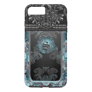 Monogramme unique gothique de Junobeau Peshfyee Coque iPhone 7 Plus