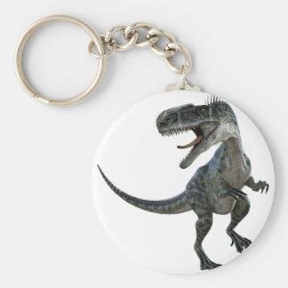 Monotophosaurus semblant droit porte-clé rond