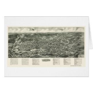 Monroe, carte panoramique de NY - 1923