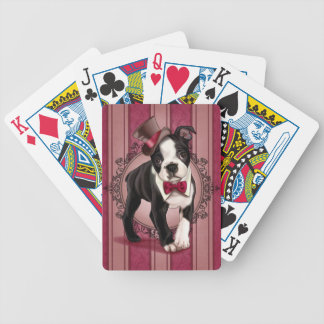Monsieur Boston Terrier Jeux De Cartes